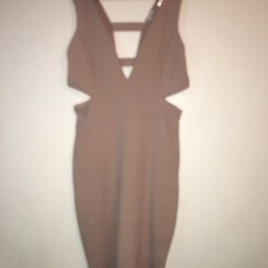 Charlotte Russe nude dress